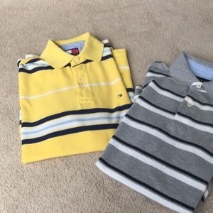 2 Tommy Hilfiger Polo Shirts Size Small